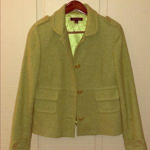 Beautiful sage green pea coat